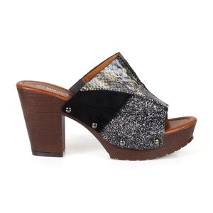 3a42509e244e0 Nature Breeze Shoes | Vint07 Multicolored Womens Clog Sandals | Poshmark